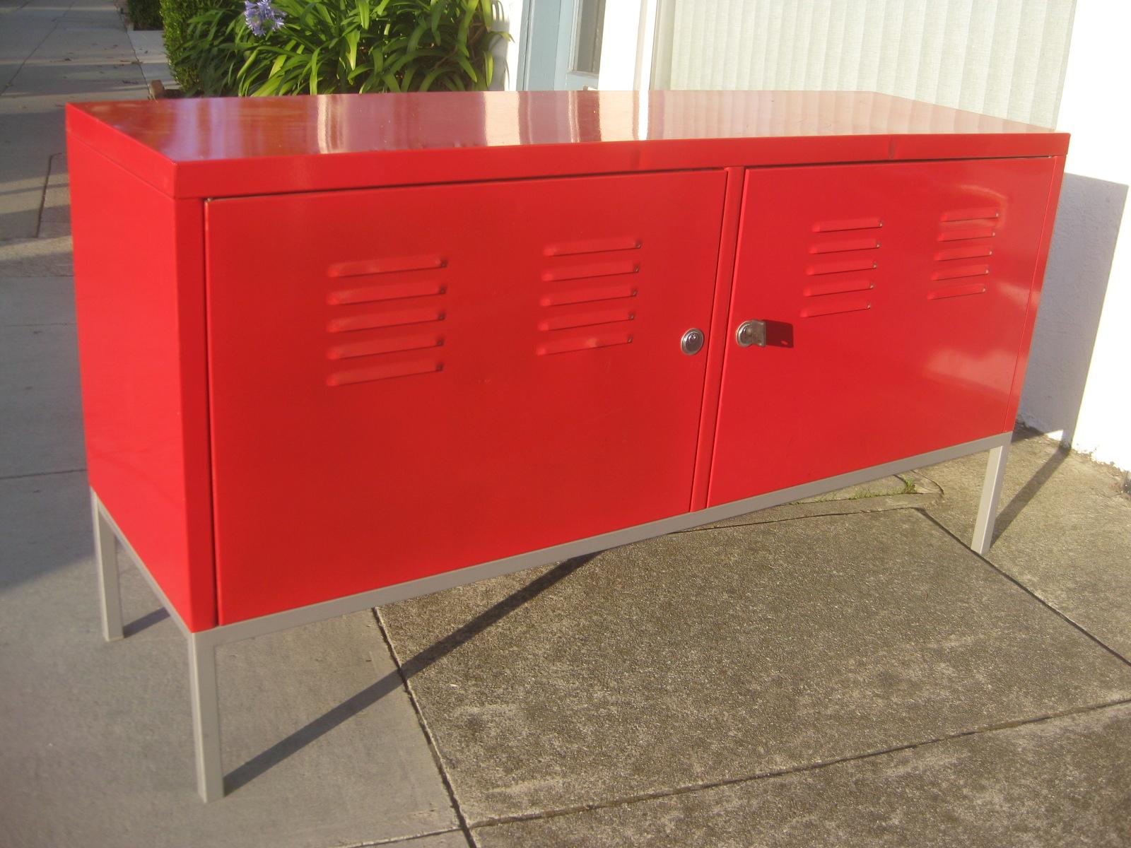 Uhuru furniture collectibles sold rocket red lockers - Mueble rojo ikea ...