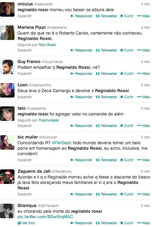 Homenagem a Reginaldo Rossi