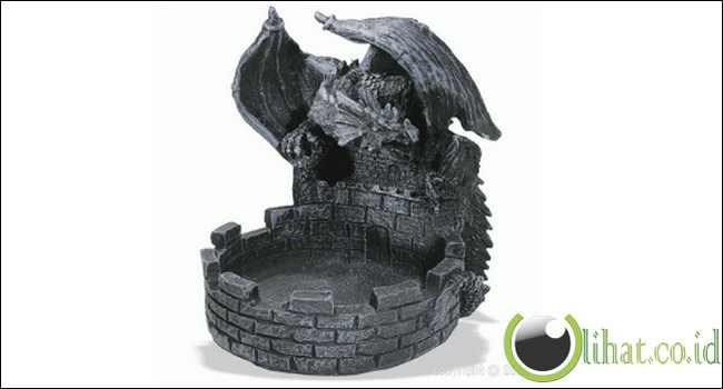 Cendrier Dragon Chateau