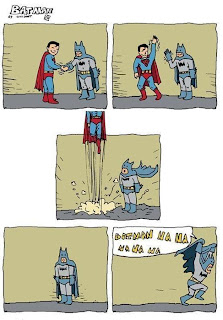 superman and batman fail funny comic