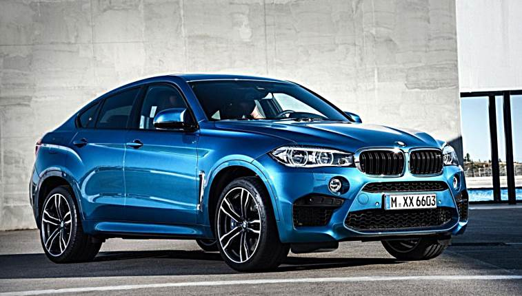 2017 Bmw X6 M Blue 200 Interior And Exterior Images