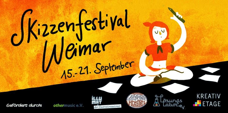 Skizzenfestival Weimar
