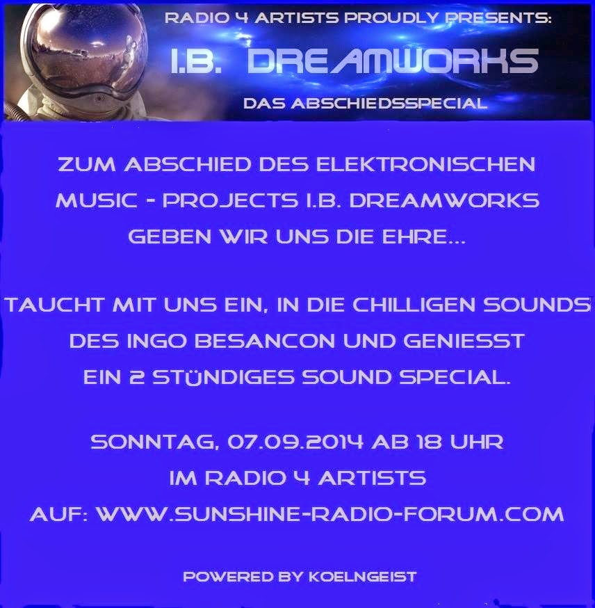 Flyer I.B. Dreamworks Special powered by Koelngeist