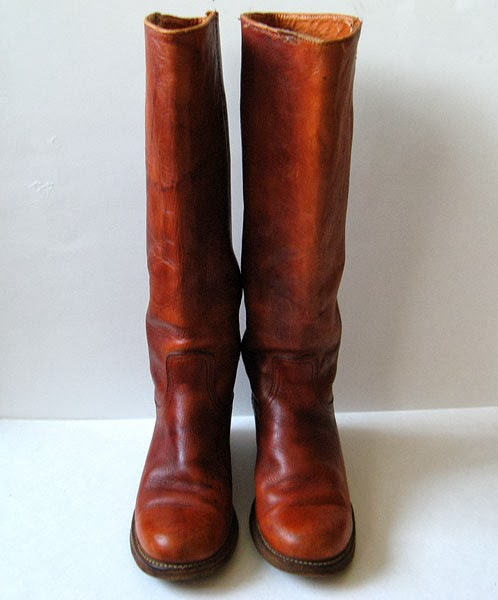 Vintage frye boots womens