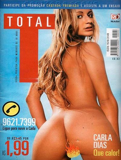 Carla Dias [Scans] – Revista Total – Março 2008