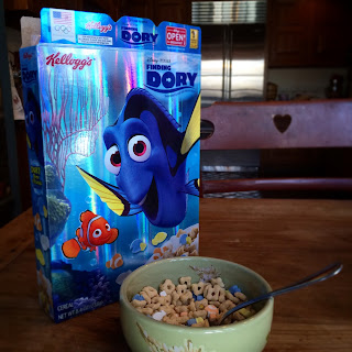 finding dory cereal