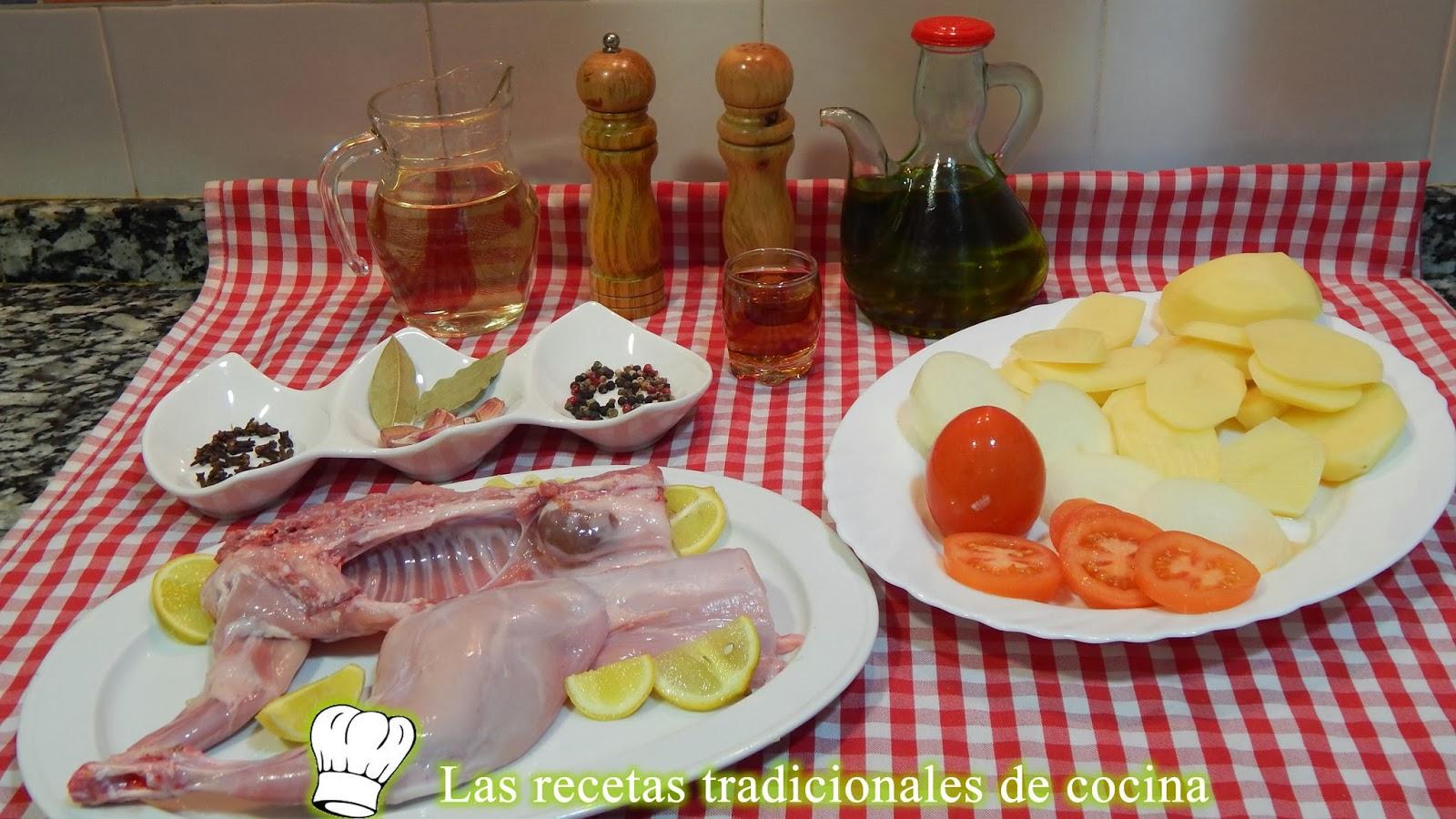 receta fácil de conejo al horno