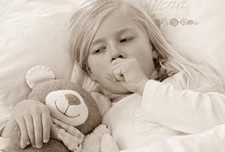 anak penderita bronkitis