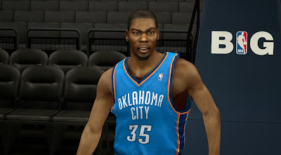 NBA 2K14 KD Cyberface Patch