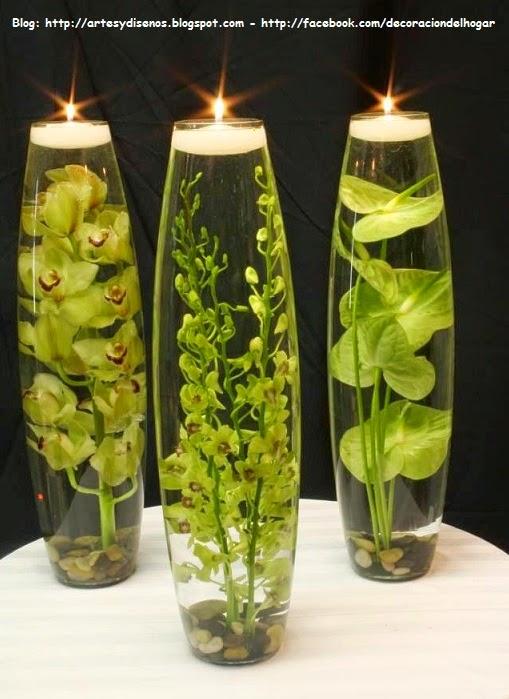 Diy decora tu habitaci n con velas flotantes decoraci n for Decoracion del hogar con velas