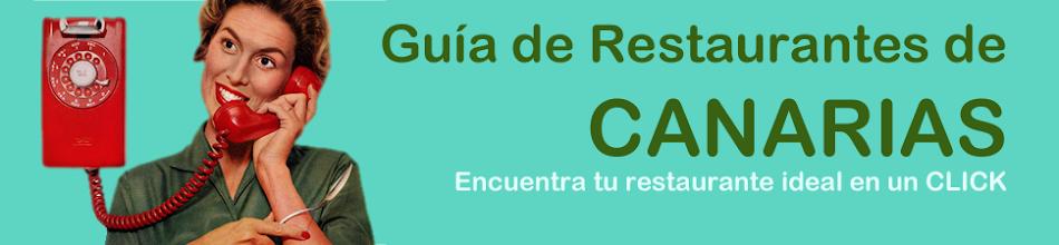 Guía Gastronómica de Canarias. Restaurantes.