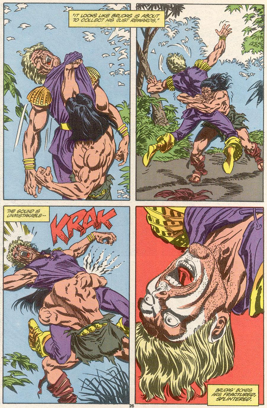 Conan the Barbarian (1970) Issue #239 #251 - English 20