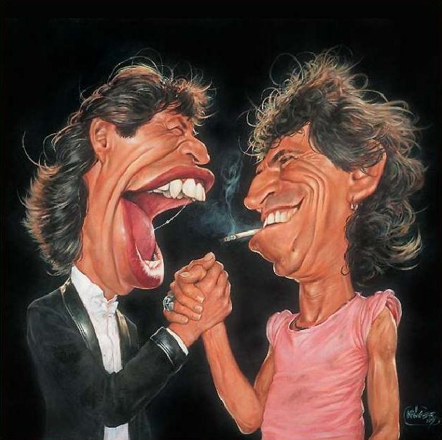 Mick Jagger & Keith Richards - New Pop Realism - Sebastian Krüger 1963