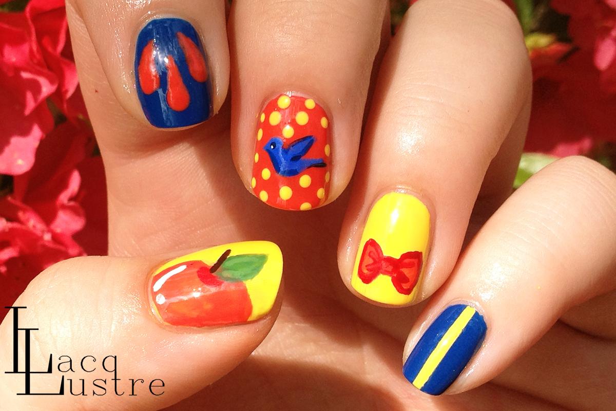 Disney Princess Nails Designs