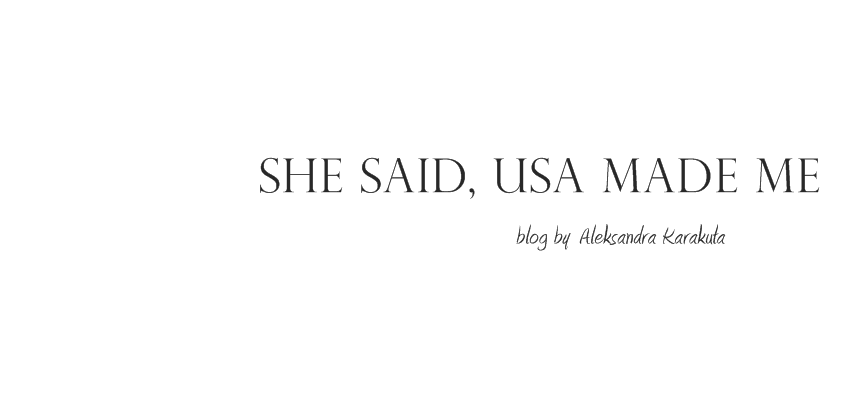 She said, USA made me