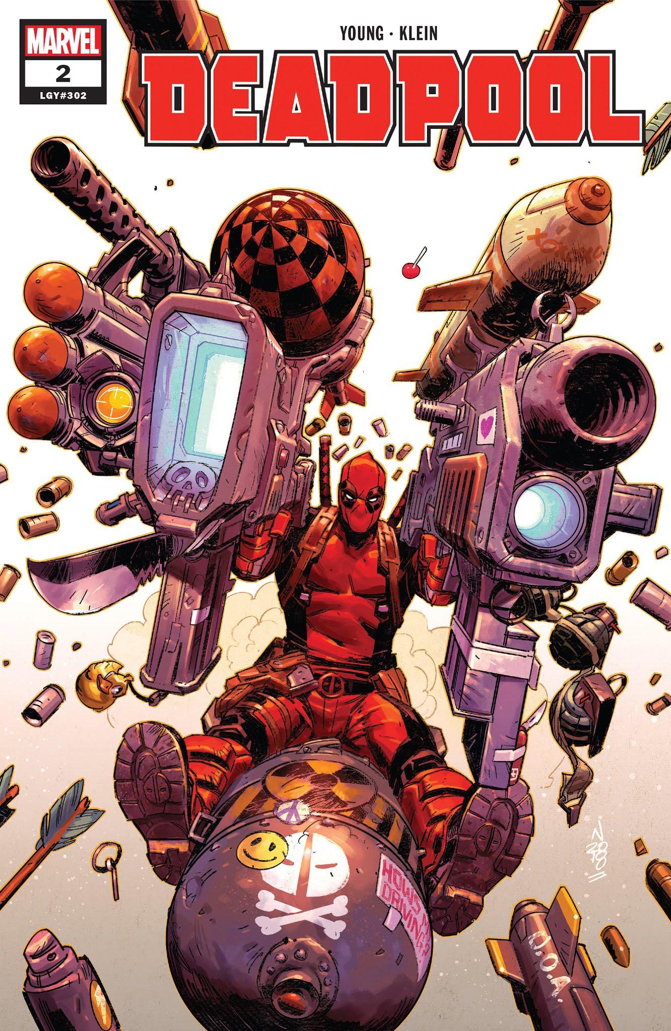 Deadpool (2018)  2 Page 1
