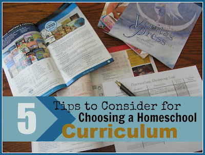 5 Tips to Consider for Choosing a Homeschool Curriculum-The Unlikely Homeschool