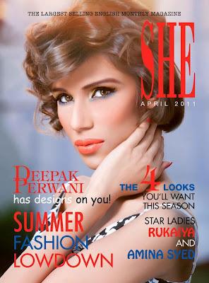 Fayeza Ansari SHE Magazine Pics.