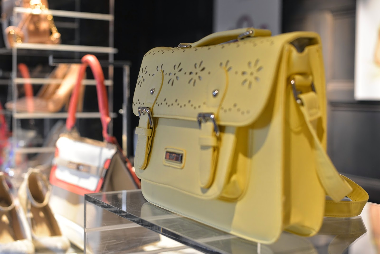 Pastel Yellow Satchel