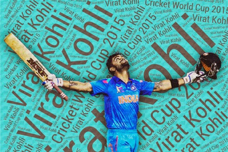 Kohli cricket world cup 2015
