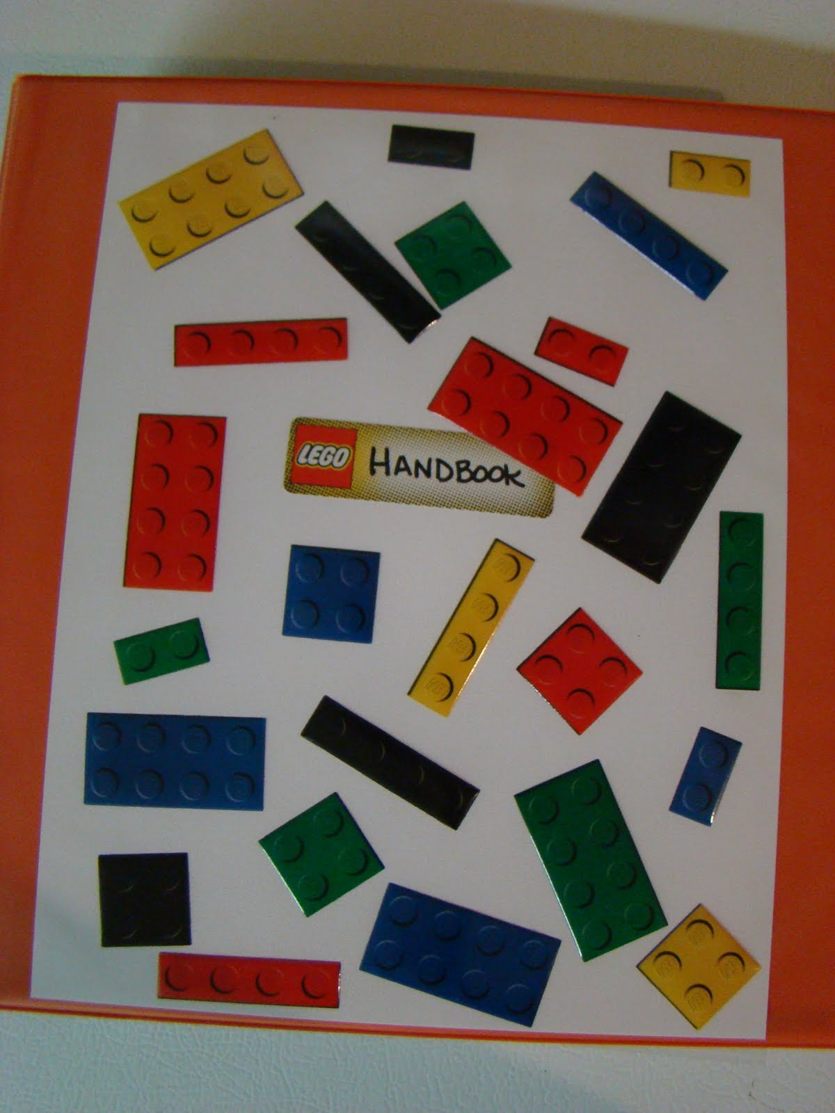 The Little Things Getting Organized Lego Instruction Handbook