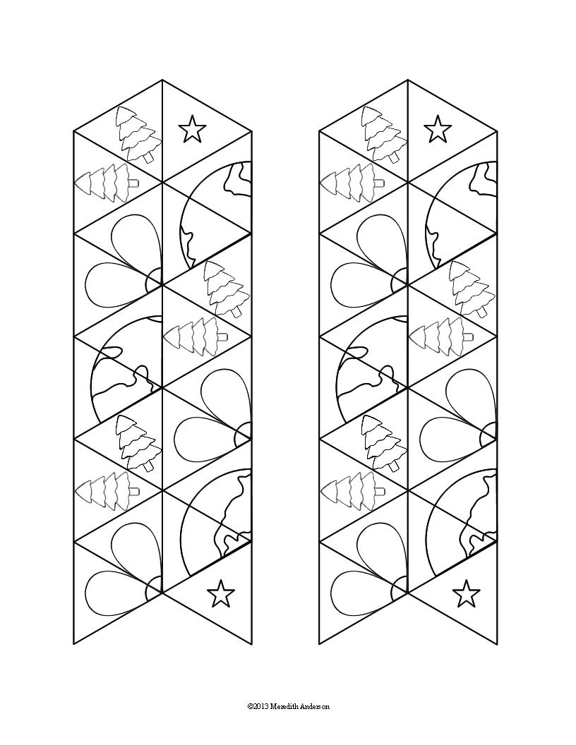 earth tri-hexaflexagons