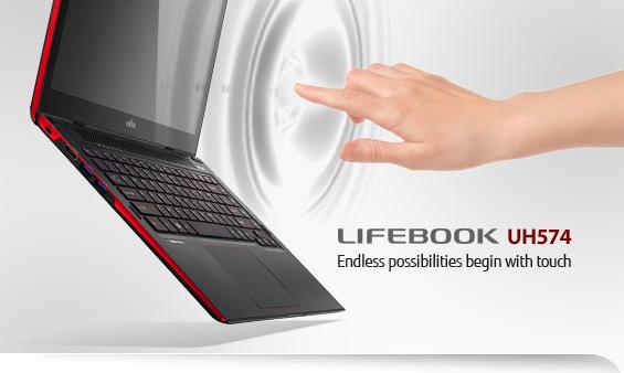 Layar Sentuh Lifebook UH574