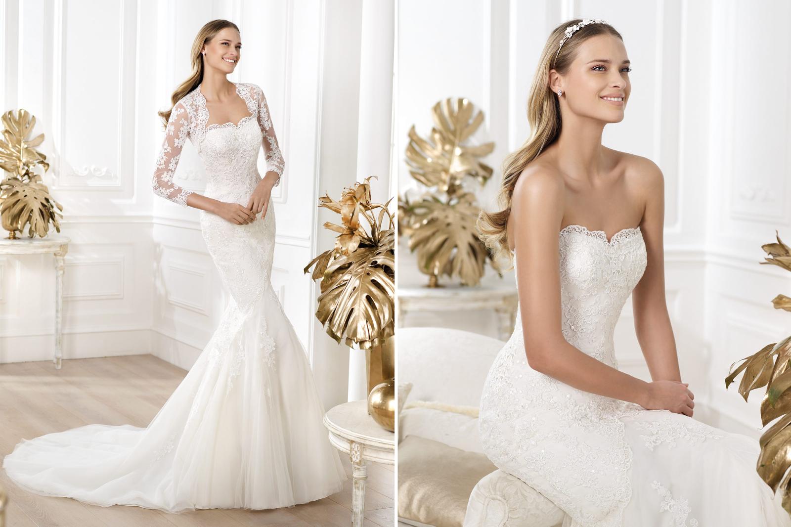 Wedding Dress Lace Italian : Wedding collections lace dresses italian designers