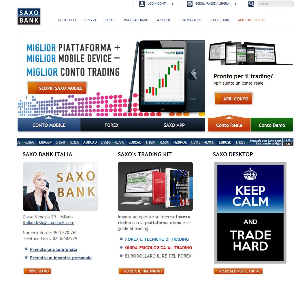Siti trading azioni