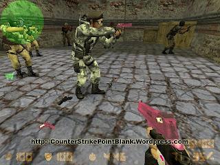 X-Shot Pink Deagle Skin for Counter Strike 1.6 -also Condition Zero