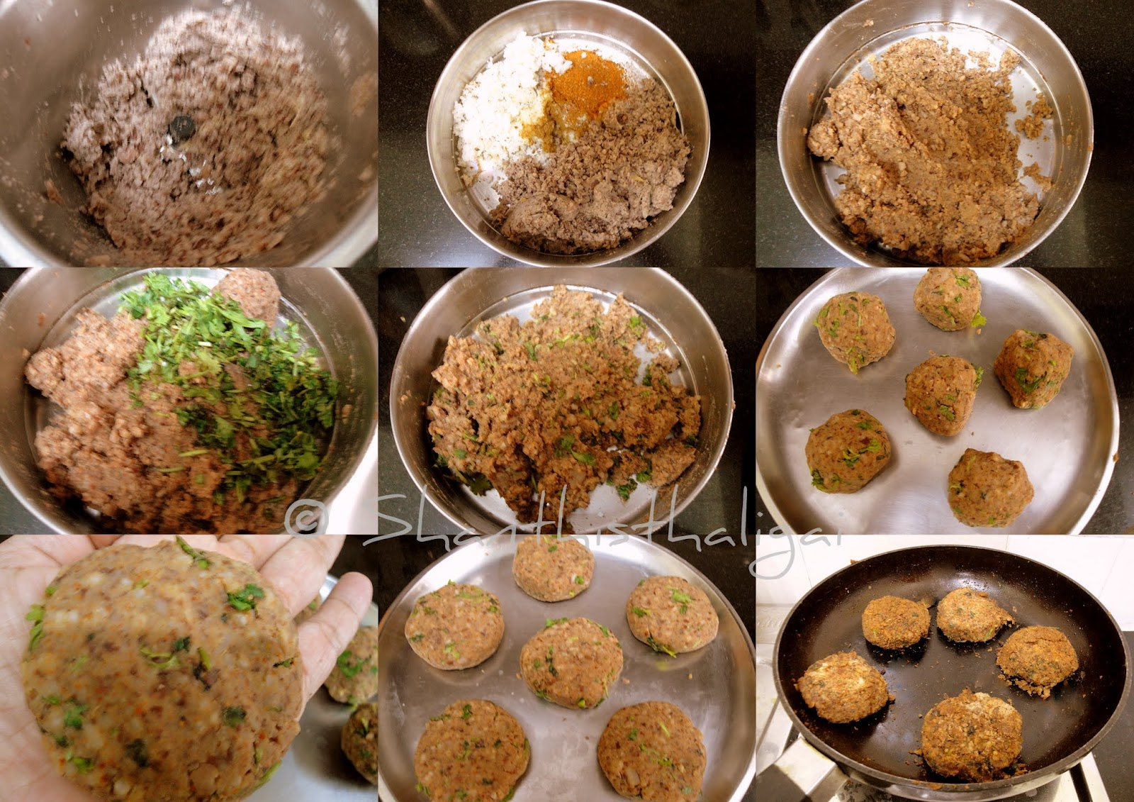 HOW TO MAKE MILLET RED KIDNEY BEAN KEBAB, HOW TO MAKE MILLET RAJMA PATTICE, HOW TO MAKE MILLET BEAN PATTIES