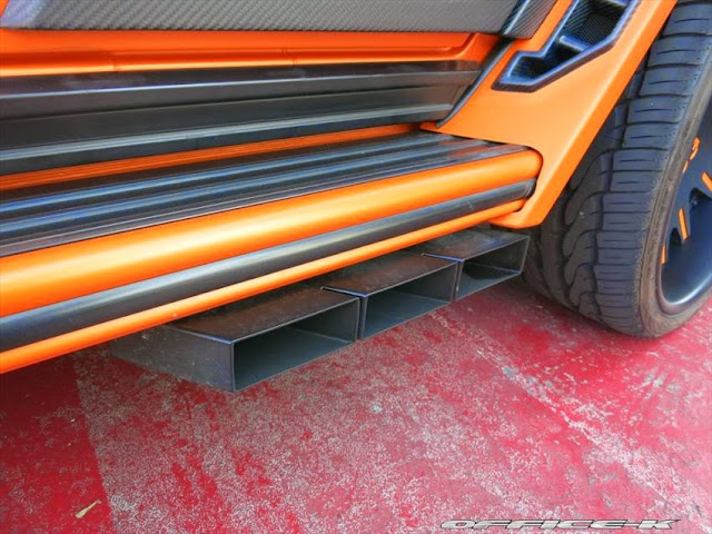 g55 amg exhaust