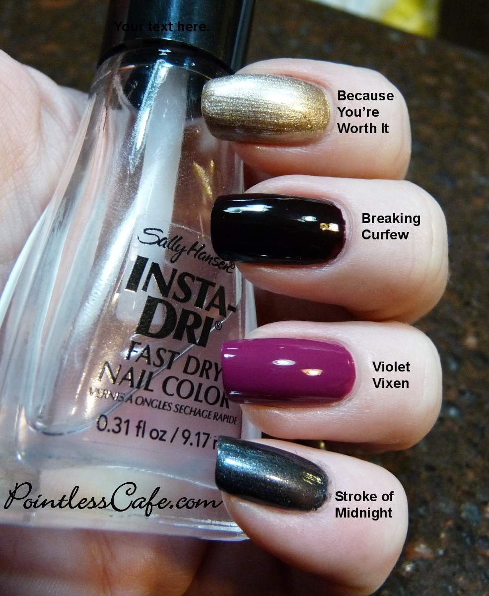 L\'Oreal 2011 Winter Nail Polish Collection (now with comparison ...