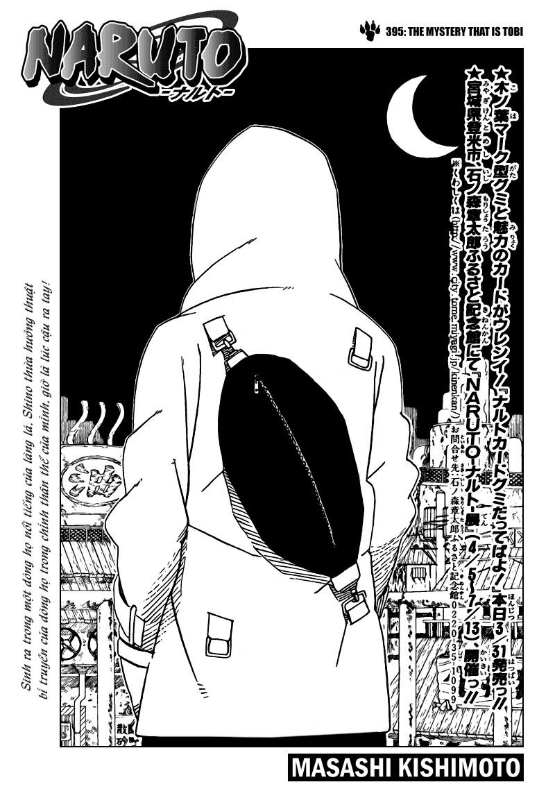 Naruto chap 395 Trang 1 - Mangak.info