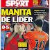 Barça super líder, Chicharito es un fenómeno: las portadas