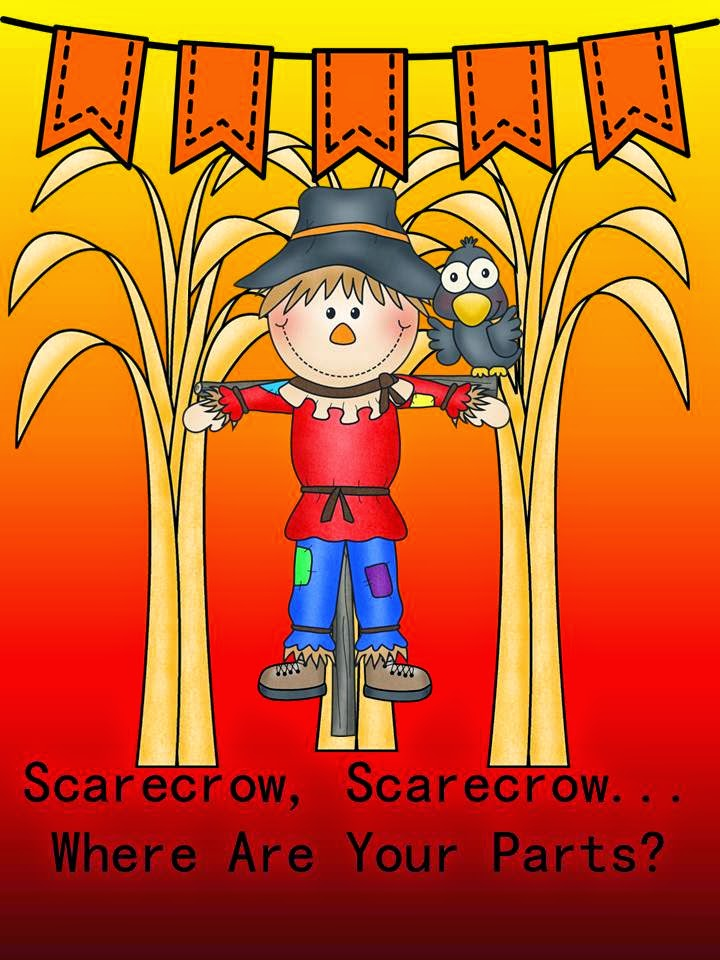 http://www.teacherspayteachers.com/Product/Scarecrow-Scarecrow-Where-Are-Your-Parts-1487508