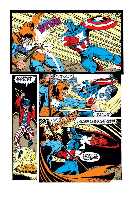 Captain America (1968) Issue #383 #316 - English 21
