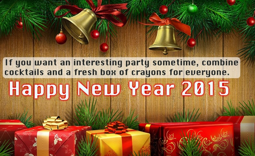 Beautiful Happy New Year 2015 Party Quotes