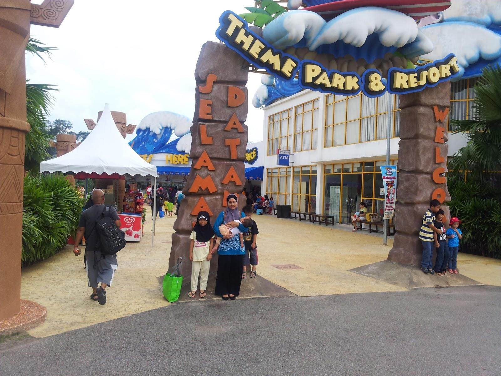 Hari terakhir kami mandi manda di melaka wonderland theme park