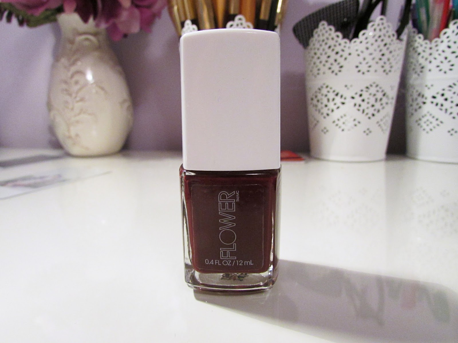 The blushing introvert brand spotlight flower beauty im a fan of berry colours and i am a fan of dark nail polish i have yet to try this product but for 5 bucks you cant go wrong izmirmasajfo