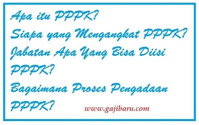 penjelasan tentang pppk