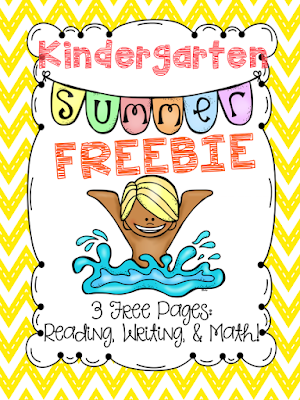 https://www.teacherspayteachers.com/Product/Kindergarten-Summer-Freebie-1241673