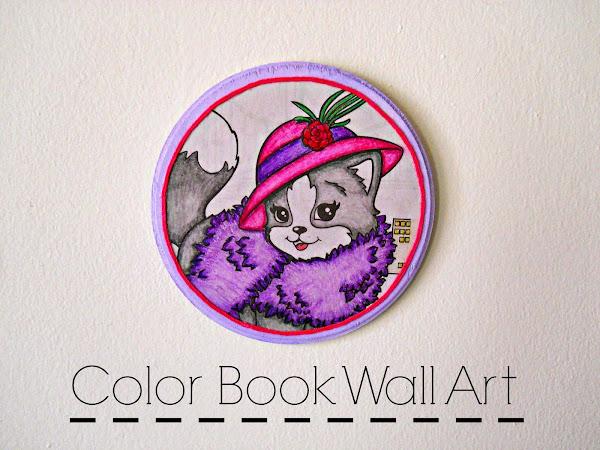 Color Book Wall Art