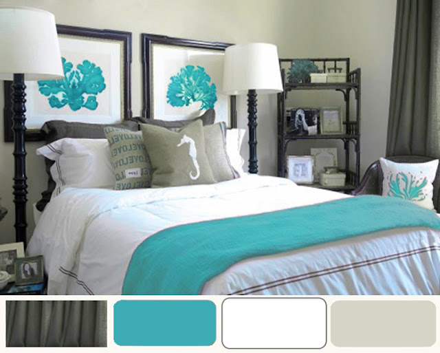 Superb Here Is An Example Images For Turquoise Bedroom Decor Ideas. Hopefully  These Suggestions Will Give You A Little Inspiration When It Comes To  Decorating Your ...