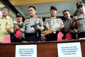Operasi Mantap Praja Bumi 2013. Kotabumi Lampung Utara
