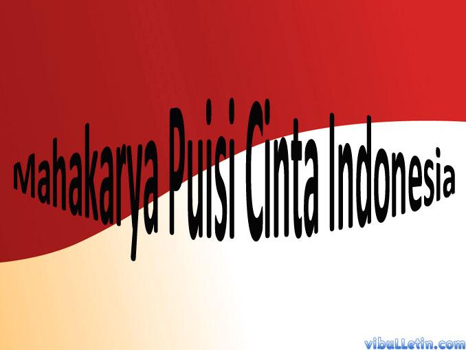 maha karya puisi indonesia