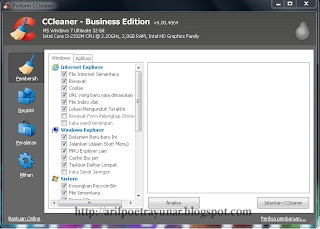 Download CCleaner Professional & Bussines Edition 4.00.4064 + Serial Number