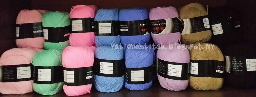Benang kait cotton