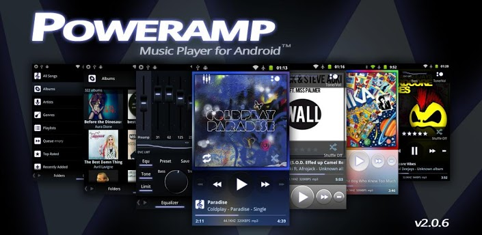 Poweramp Music Player  FULL VERSION [4MB]