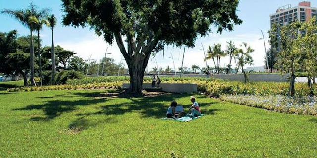 Parque Arts Park at Young Circle Miami